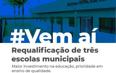 Prefeitura inicia requalificação das escolas municipais de Cardeal da Silva
